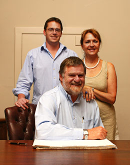 The Tracey Family of Tracey's Diamonds, Franschhoek